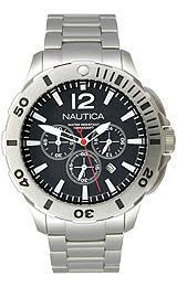 Nautica Box Set BFD 101 Black Dial Mens watch #N23519G