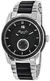 Kenneth Cole Bracelet Black Dial Mens Watch #KC9123