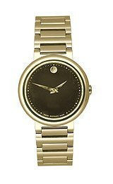 Movado Concerto Black Museum Dial Womens watch #606420