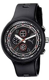 Puma Straps Slick Chronograph Black Dial Mens watch #PU910401001