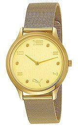 Puma Slim Rim - S Metal Gold Womens watch #PU102692004