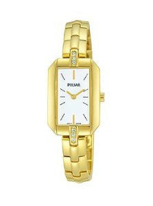 Pulsar Night Out Two-Hand Stainless Steel - Gold-Tone Womens watch #PRW004X