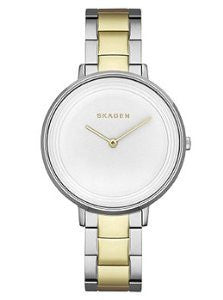Skagen Ditte Two-Hand Two-Tone Stainless Steel Womens watch #SKW2339