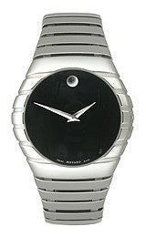 Movado Museum Collection Riveli Black Dial Mens watch #605831