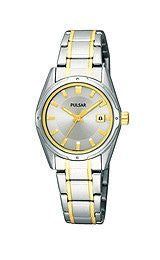 Pulsar by Seiko Two-Tone Womens Watch #PXT811