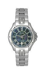 Pulsar by Seiko Three-Hand Stainless Steel Womens watch #PXT577