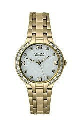 Citizen Eco-Drive Bella 3-Hand with Diamonds Womens watch #EM0123-50A
