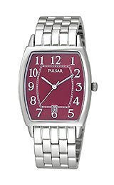 Pulsar by Seiko Three-Hand Stainless Steel Mens watch #PXD929