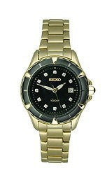 Seiko Core Collection Stainless Steel - Gold-Tone Womens watch #SXDB28