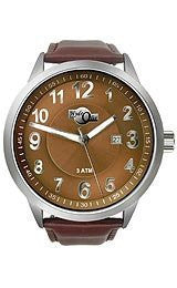 HydrOlix 3-Hand Brown Leather/Brown Dial Unisex watch #XA00220