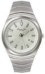 Kenneth Cole New York Bracelet Silver Dial Mens watch #KC9062