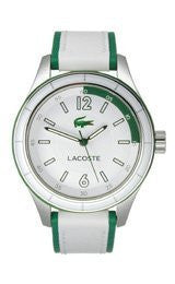 Lacoste Sydney Leather - White/Green Womens watch #2000829