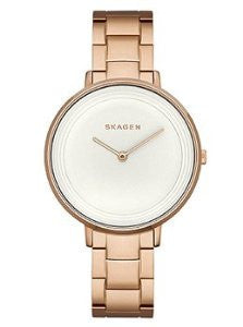 Skagen Ditte Two-Hand Rose-Gold Stainless Steel Womens watch #SKW2331