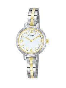 Pulsar Two-Hand Stainless Steel - Two-Tone Womens watch #PM2087