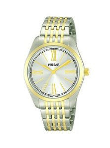 Pulsar Easy Style Three-Hand Stainless Steel - Two-Tone Womens watch #PG2008