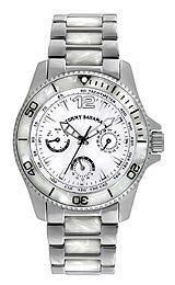 Tommy Bahama Riviera Multifunction Silver/Bone Womens watch #TB4052