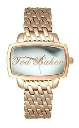 Ted Baker Rose-Gold Stainless Steel Womens watch #TE4023