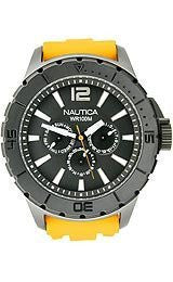 Nautica Multifunction NSR 05 Black Dial Mens watch #N17596G
