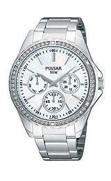 Pulsar by Seiko Multifunction Stainless Steel Womens watch #PP6049