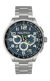 Nautica Chronograph Blue Dial Unisex watch #N25522M