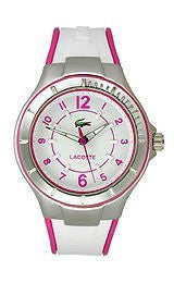 Lacoste Acapulco Silicone - White/Pink Womens watch #2000802