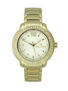 Tommy Hilfiger Three-Hand Gold-Tone Stainless Steel Womens watch #1781467