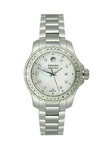 Movado Series 800 Stainless Steel with Diamonds Womens watch #2600120