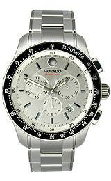 Movado Series 800 Stainless Steel Chronograph Mens watch #2600095