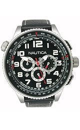 Nautica Chronograph Ocean 46 Black Dial Mens watch #N25012G