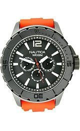 Nautica Multifunction NSR 05 Black Dial Mens watch #N17595G