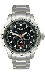 Nautica Multifunction Black Dial Mens watch #N18620G