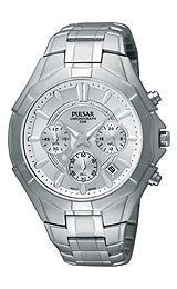 Pulsar by Seiko Chronograph Stainless Steel Mens watch #PT3203