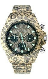 Toy Watch Imprint Snake Chronograph Unisex watch #FLE04RE
