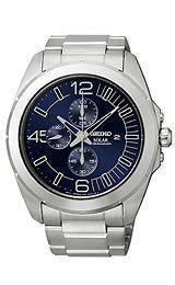 Seiko Core Collection Solar Stainless Steel Mens watch #SSC201