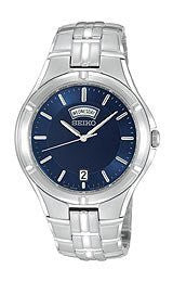 Seiko Mens Stainless Steel Bracelet watch #SGEE37