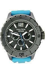 Nautica Multifunction NSR 05 Black Dial Mens watch #N17597G