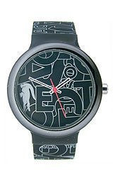 Lacoste Goa Silicone - Black/Grey Unisex watch #2020067