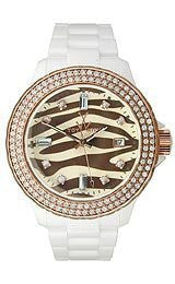 Toy Watch Toy Safari Brown Zebra Dial Womens Watch #TS07WH