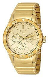 Puma Fast Track Metal Gold Womens watch #PU102822003