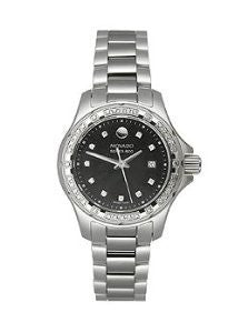 Movado Series 800 Stainless Steel with Diamonds Womens watch #2600079