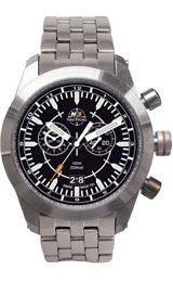 H3 TACTICAL Stealth Mission Chrono Steel Mens watch #H3.521211.12
