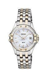 Seiko Le Grand Sport Two-tone Stainless Steel Womens watch #SXDE84