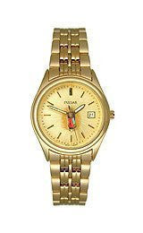 Pulsar by Seiko Gold-Tone Stainless Steel Womens watch #PXT590G