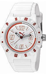Puma Traction White Dial Mens watch #PU910811005