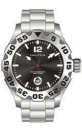 Nautica BFD 100 Steel Bracelet Mens watch #N17549G