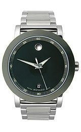 Movado Museum? Sport Stainless Steel Mens watch #606604