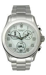 Victorinox Swiss Army Chrono Classic White Dial Mens Watch #241538