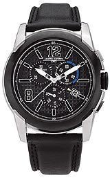 Jorg Gray Swiss ISA Chrono Black Dial Mens watch #JG9400-12
