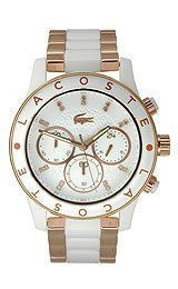 Lacoste Charlotte Chronograph Stainless Steel - Rose-Gold Womens watch #2000804