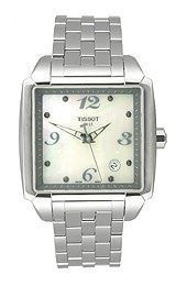 Tissot T-Classic Quadrato Silver Mother-of-pearl Dial Womens watch #T005.510.11.117.00